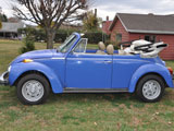 1978 VW Super Beetle Karmann Convertible