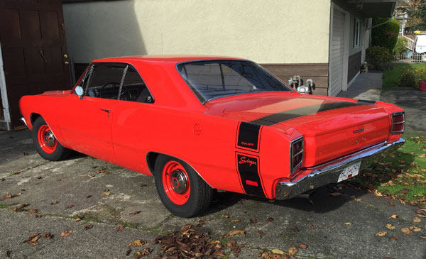 1969 dodge dart swinger for sale would