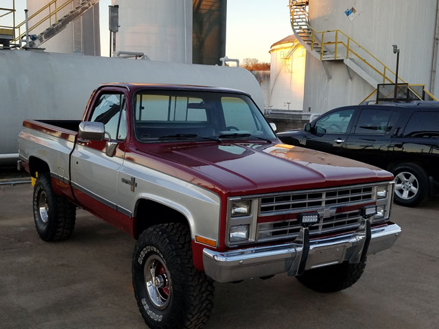 1985 Chevy K10 For Sale