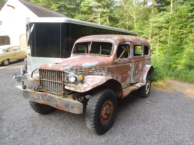 1942 Dodge Wc53 Carryall Pickup Cars On Line Com Classic Cars