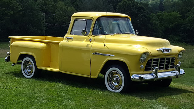 1955 Chevy Truck For Sale >> 1955 Chevy Pickup Cars On Line Com Classic Cars For Sale