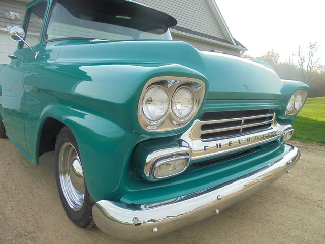 1958 Chevy Apache Fleetside Cars On Line Classic Cars For Sale
