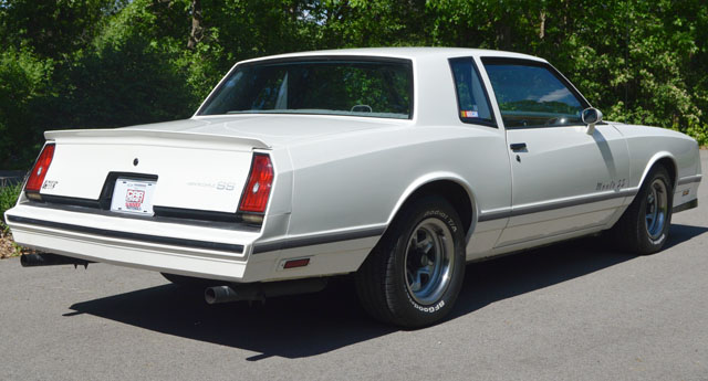 1983 Chevy Monte Carlo Ss Cars On Line Com Classic Cars For Sale