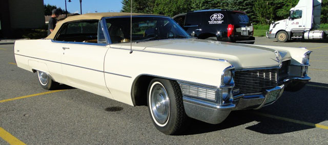 1965 Cadillac Coupe Deville Convertible Cars On Line Com Classic