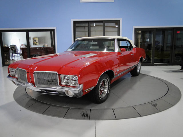 Olds Cutlass SX Convertible