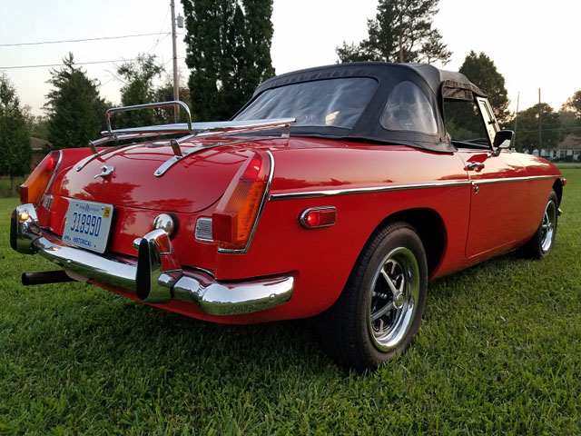 1974 MGB Roadster | Cars On Line com | Classic Cars For Sale