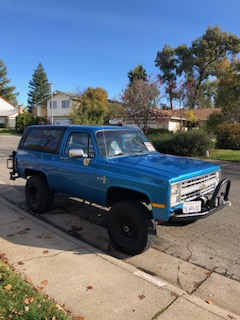 Chevy K5 Blazer for Sale