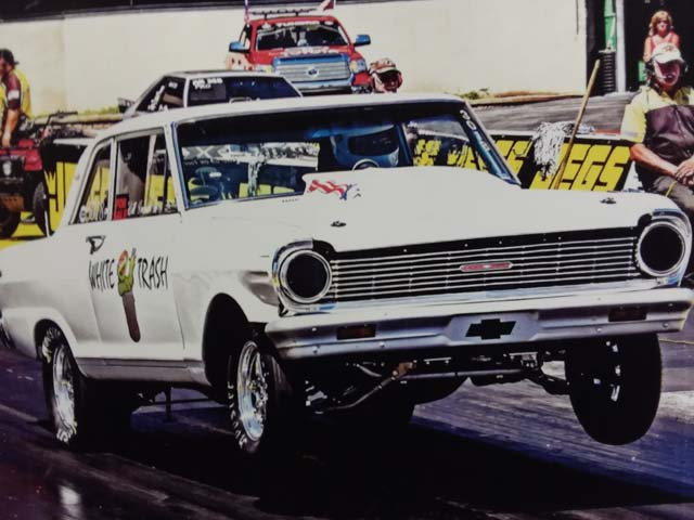 Chevy Nova Drag Race