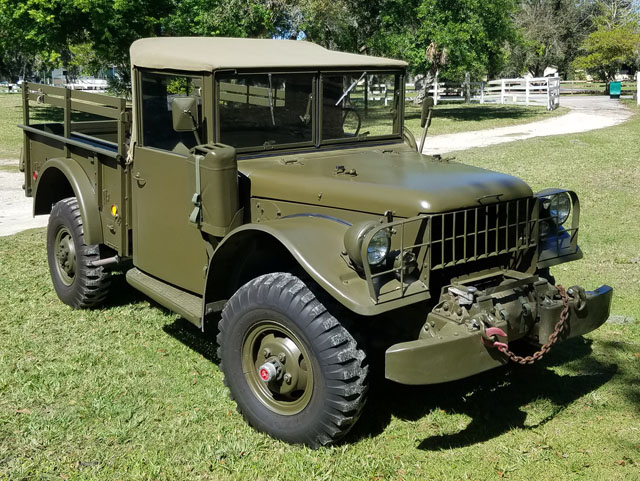 Dodge M 37 Troop Carrier Pickup