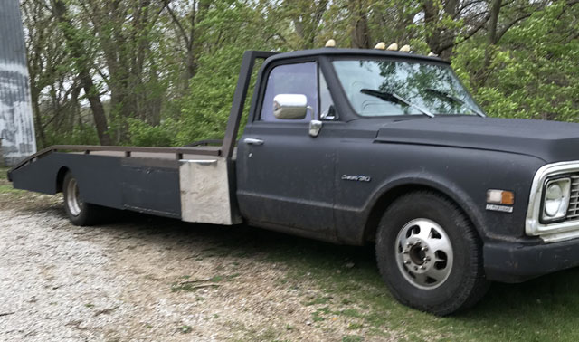 Chevy Ramp Truck For Sale