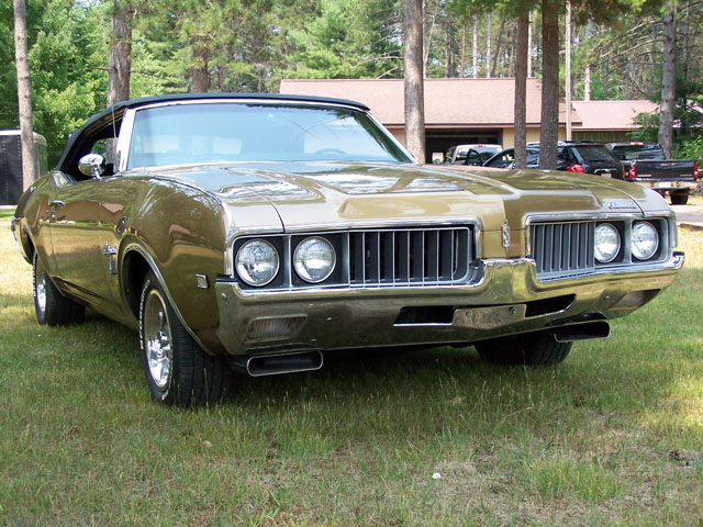 Oldsmobile Cutlass S Convertible