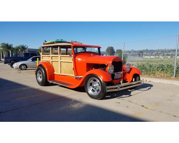 1928 Ford Bamboo Woodie