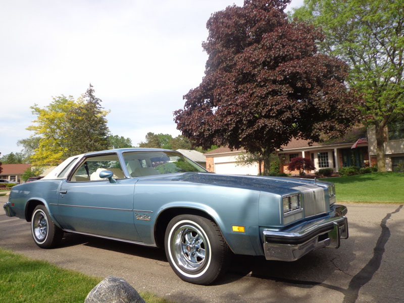 76olds73328 for 1976 oldsmobile cutlass salon for sale