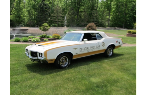1972 Olds 442 Indy Pace Car Convertible