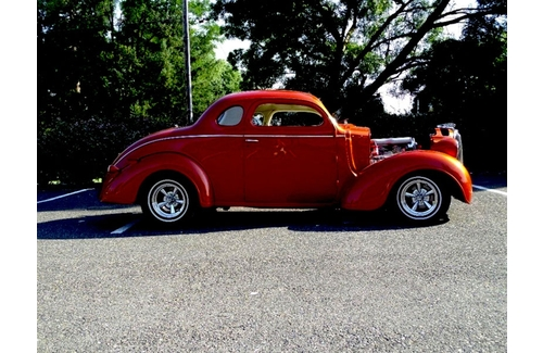 1938 Plymouth P6 Coupe