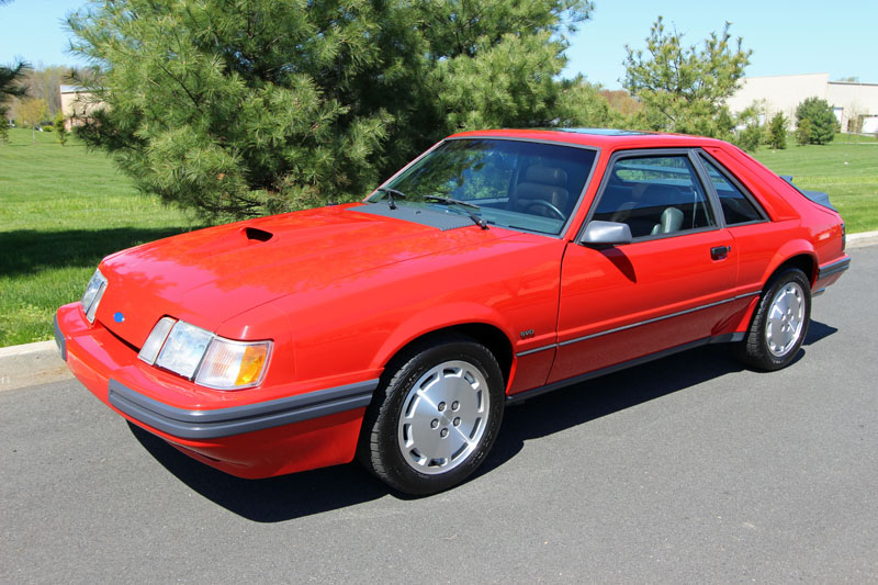 line cars 1986 mustang svo
