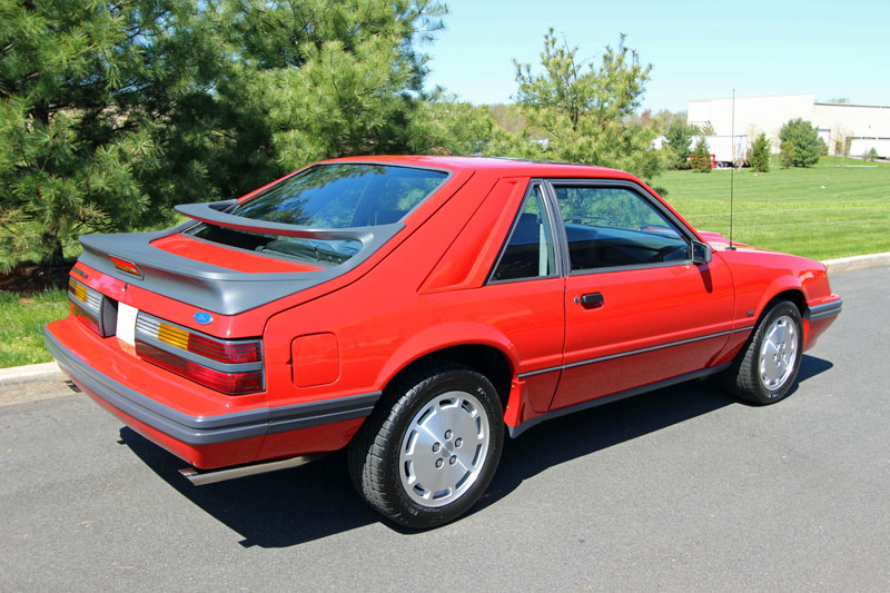 line cars svo 1986 ford mustang