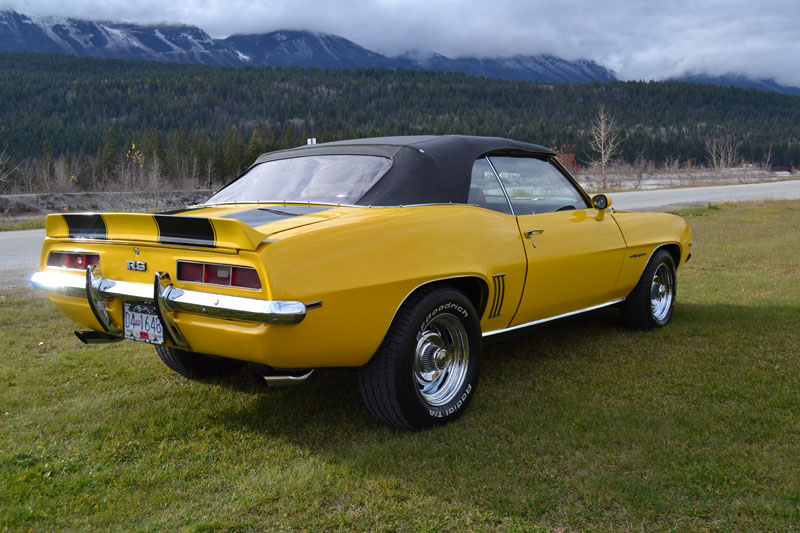 1969 Camaro Rs Convertible