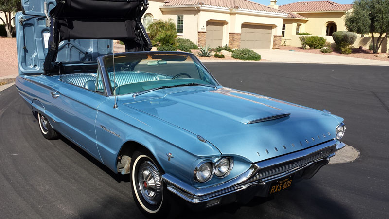 line cars thunderbird convertible 1964 ford carsonline sale slideshow