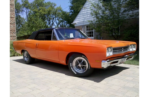 1969 Plymouth Satellite Convertible