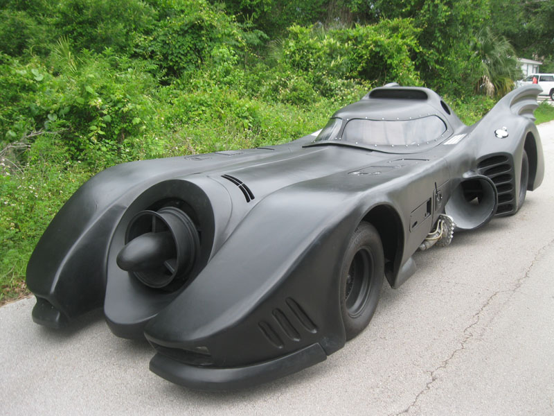 1989 corvette batmobile batman replica car. Black Bedroom Furniture Sets. Home Design Ideas