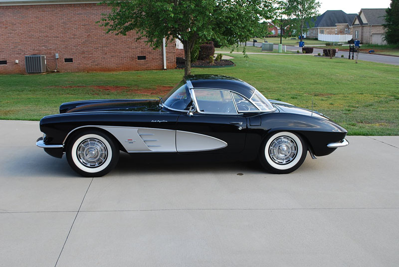 1961 Corvette For Sale >> 1961 Corvette Convertible