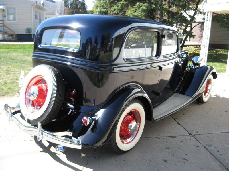 1934 Ford Headlight Stands : Ford sedan deluxe