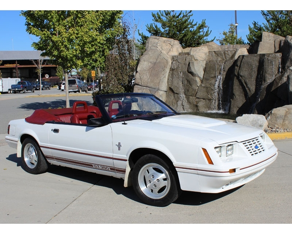 1984 Mustang 20th Anniversary Convertible